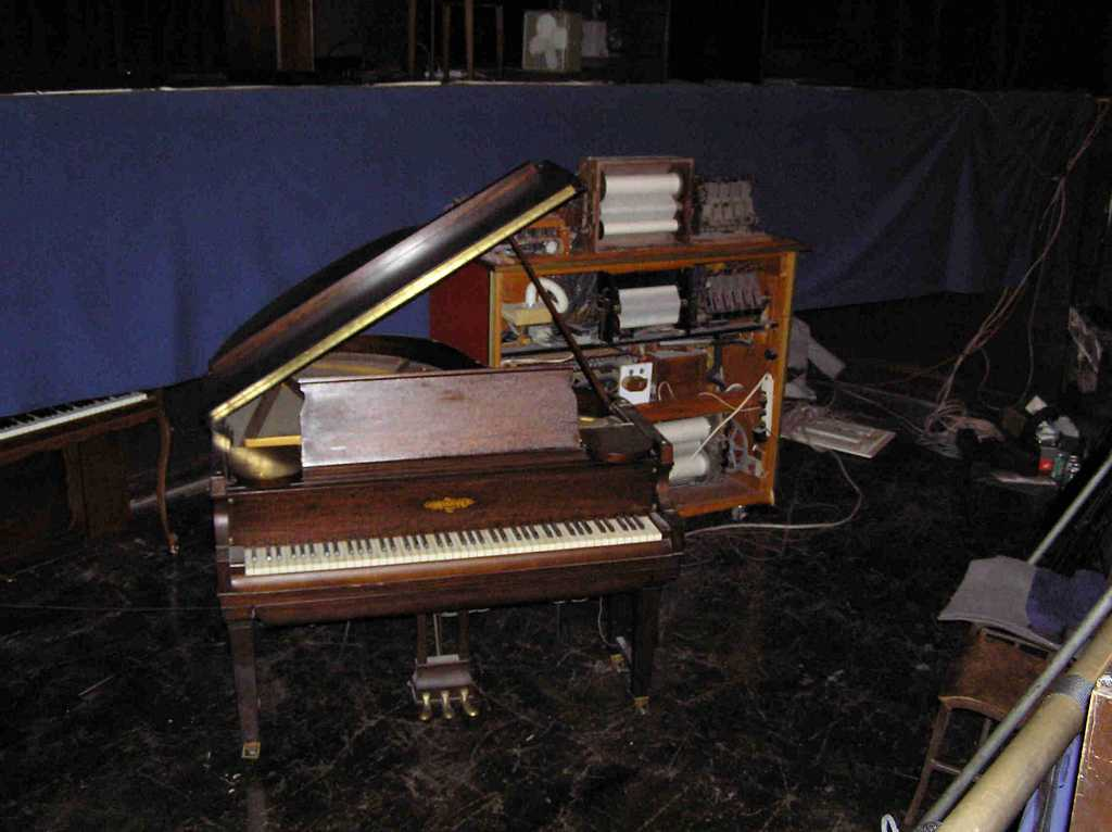 A Photo of the Chickering Grand Piano